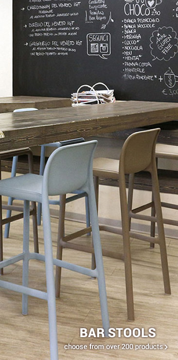 BAR STOOLS Plastic, wood or metal?