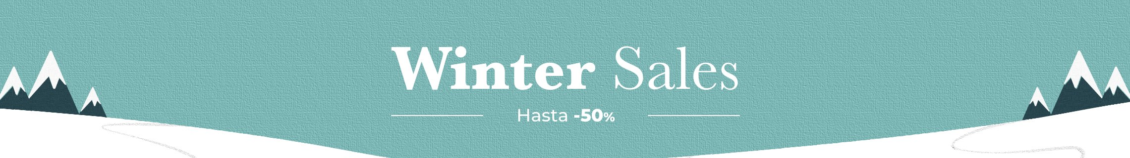 WINTER SALES HASTA -50% EXPIRA EL 31.01
