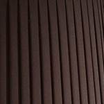 Brown pleated