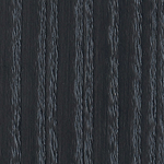 Black grey lacquered ash