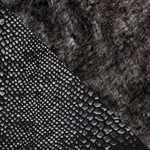Fur in grey - python fabric