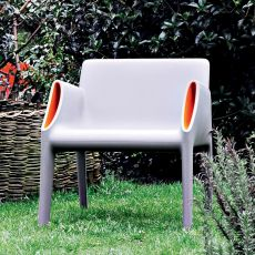 Magic Hole Armchair - Kartell design armchair, suitable for garden, in polyethylene, available in different colors