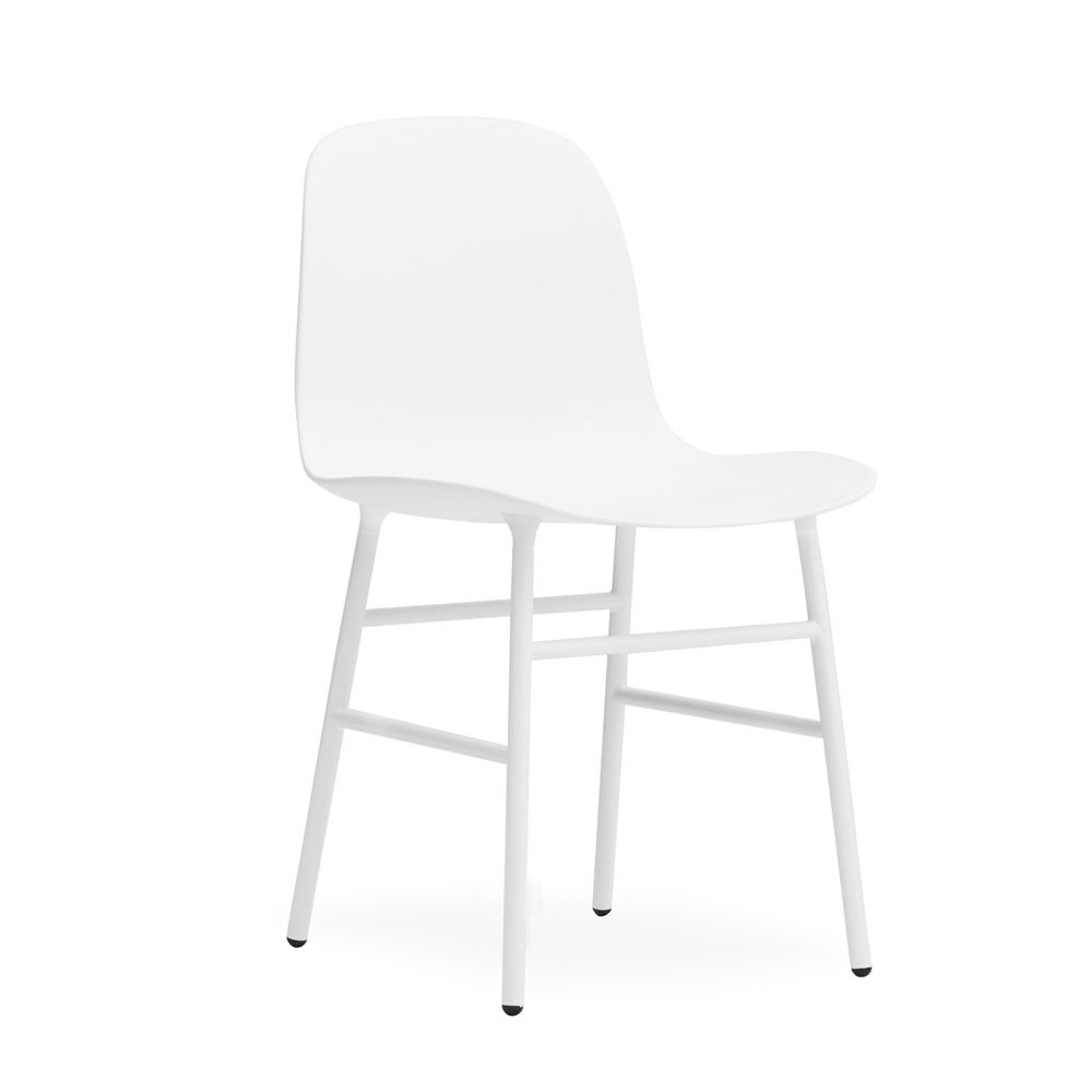 Form Structure Matching colour with seat Polypropylene seat white