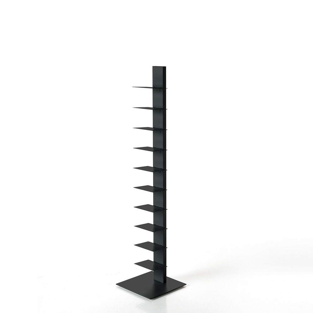 Sapiens Structure Black varnished metal Height 152 cm. Express Delivery