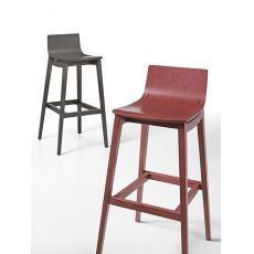 Emma Stool - Infiniti wooden stool, different colours and heights available