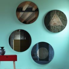 Tropicana - Wall-mounted mirror Miniforms, available in different models