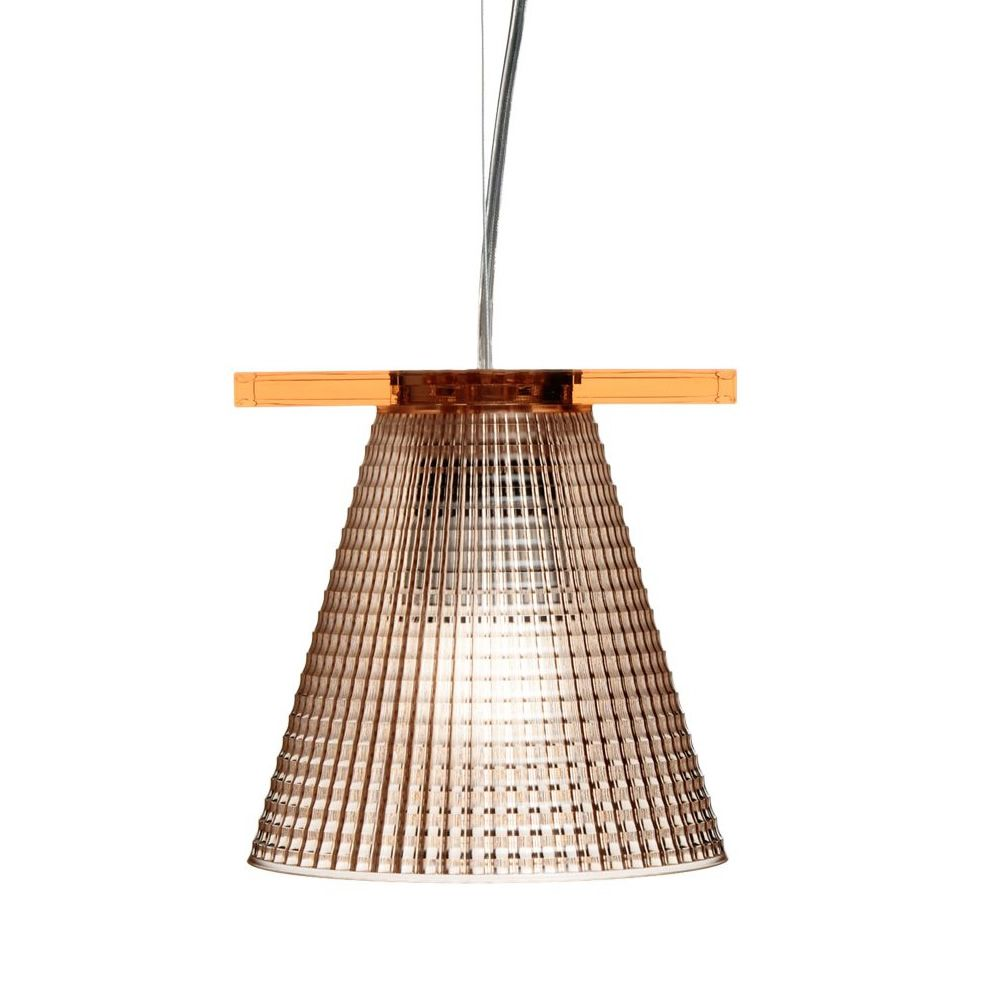 Kartell suspension ceiling lamp, pink colour