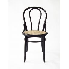 SE01CR - Vienna style chair with wooden structure, several colours and kind of seats