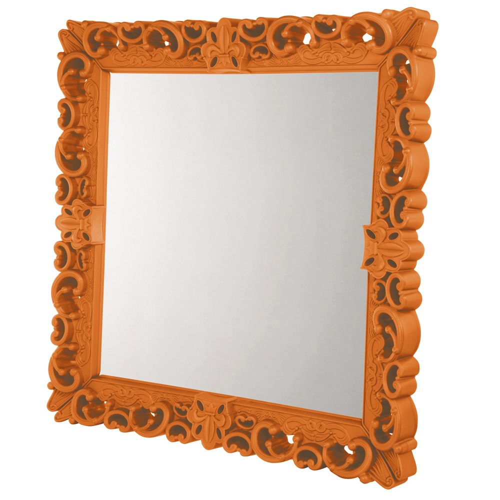 Mirror of Love Tamaño Grande Color Naranja calabaza