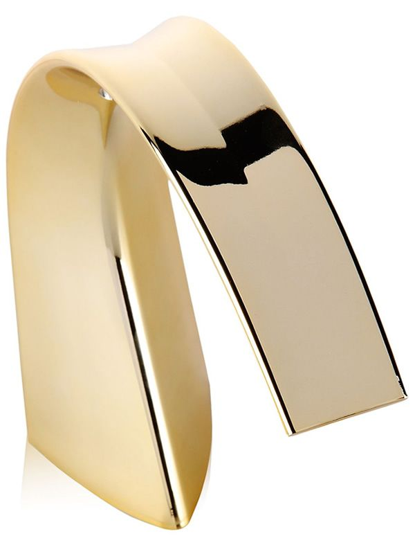 Kartell table lamp in gold colour