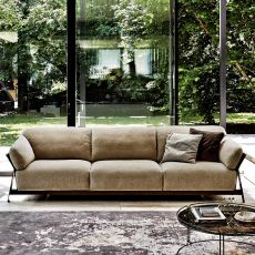 Key West - Modern sofa, 2, 3 or 3XL seater, with several removable coverings