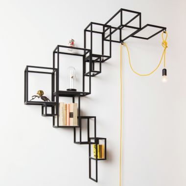 Shelving System Jointed Wall