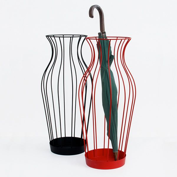 Metal umbrella stands