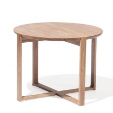 Delta-coffee 723 - Ton round coffee table, in wood