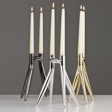 Abbracciaio - Kartell design candelabra, in aluminium, available in several colours