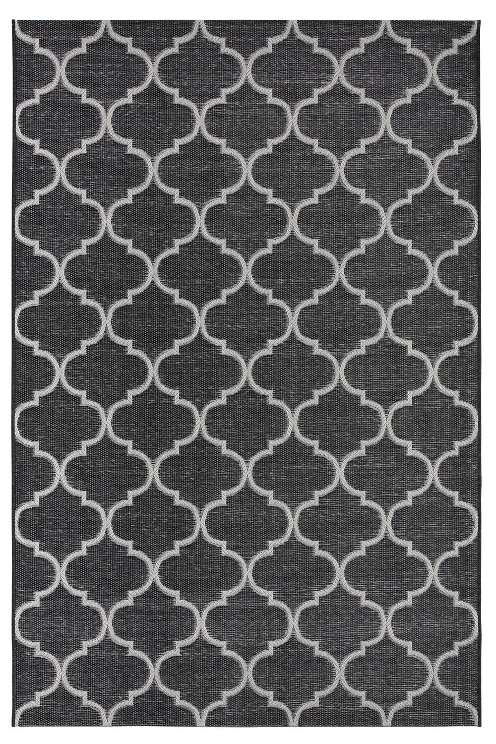 Outdoor rug, in grey colour