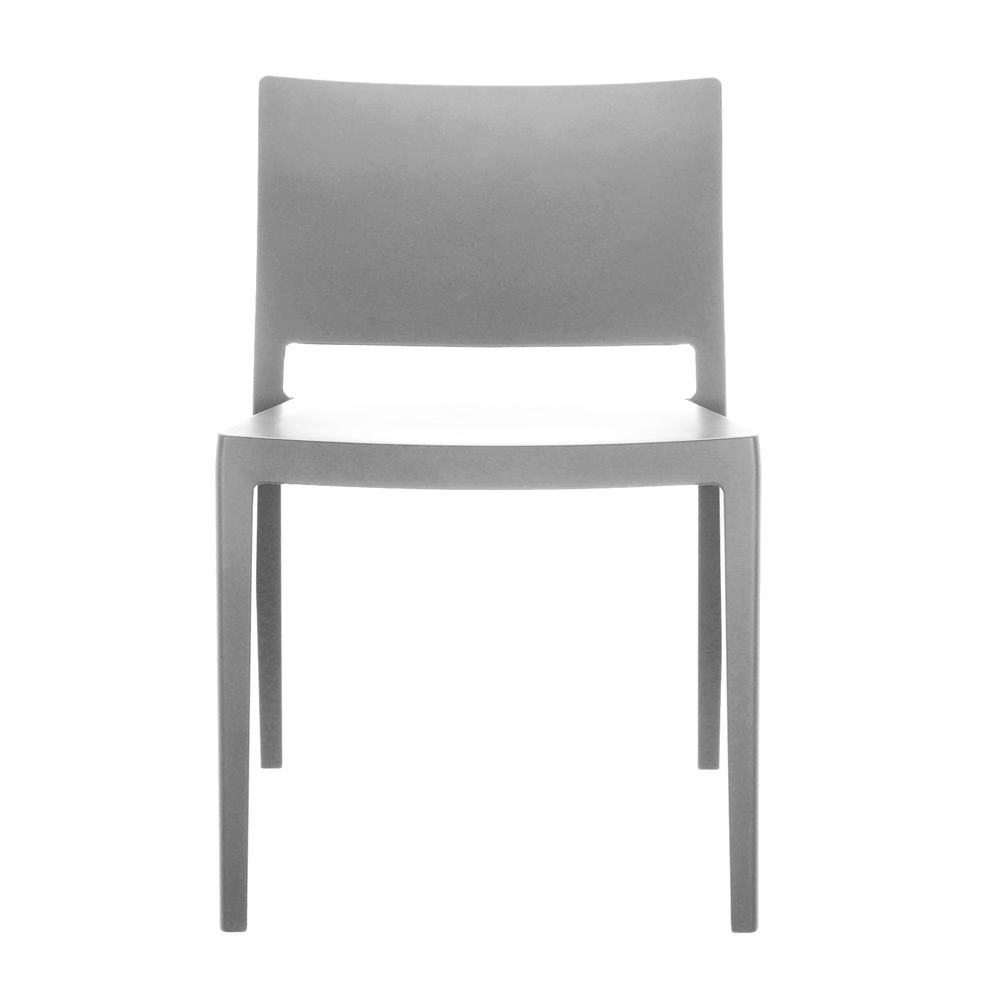 Kartell chair in grey colour