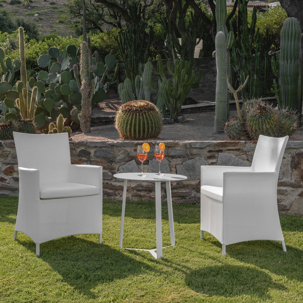 Garden armchairs matching with Touch/C2 coffee table