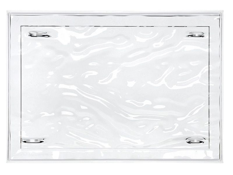Kartell tray, transparent