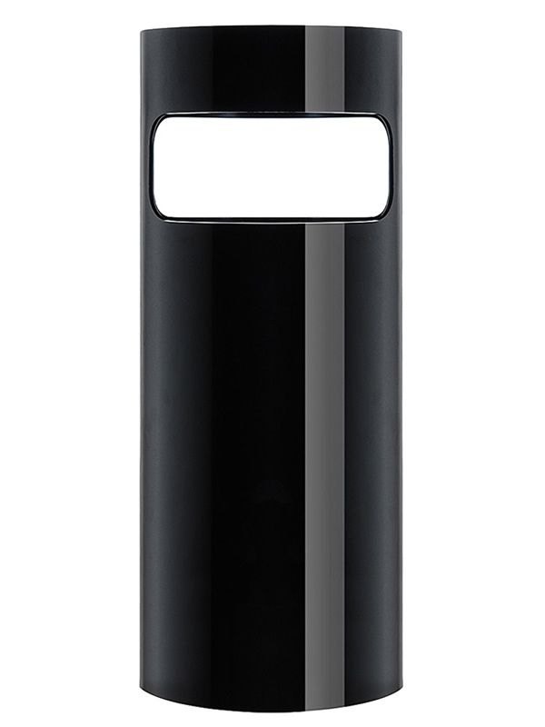 Kartell umbrella stand in black ABS