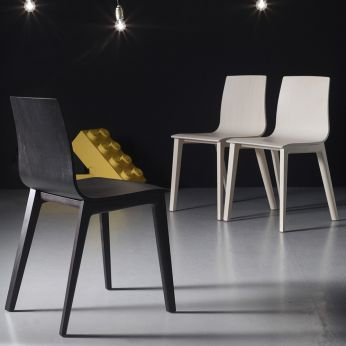Smilla 2840 - Wooden design chair