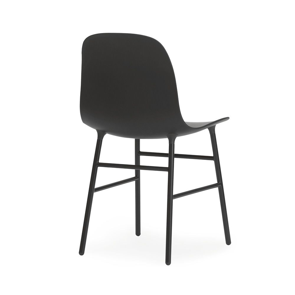 Form Structure Matching colour with seat Polypropylene seat black
