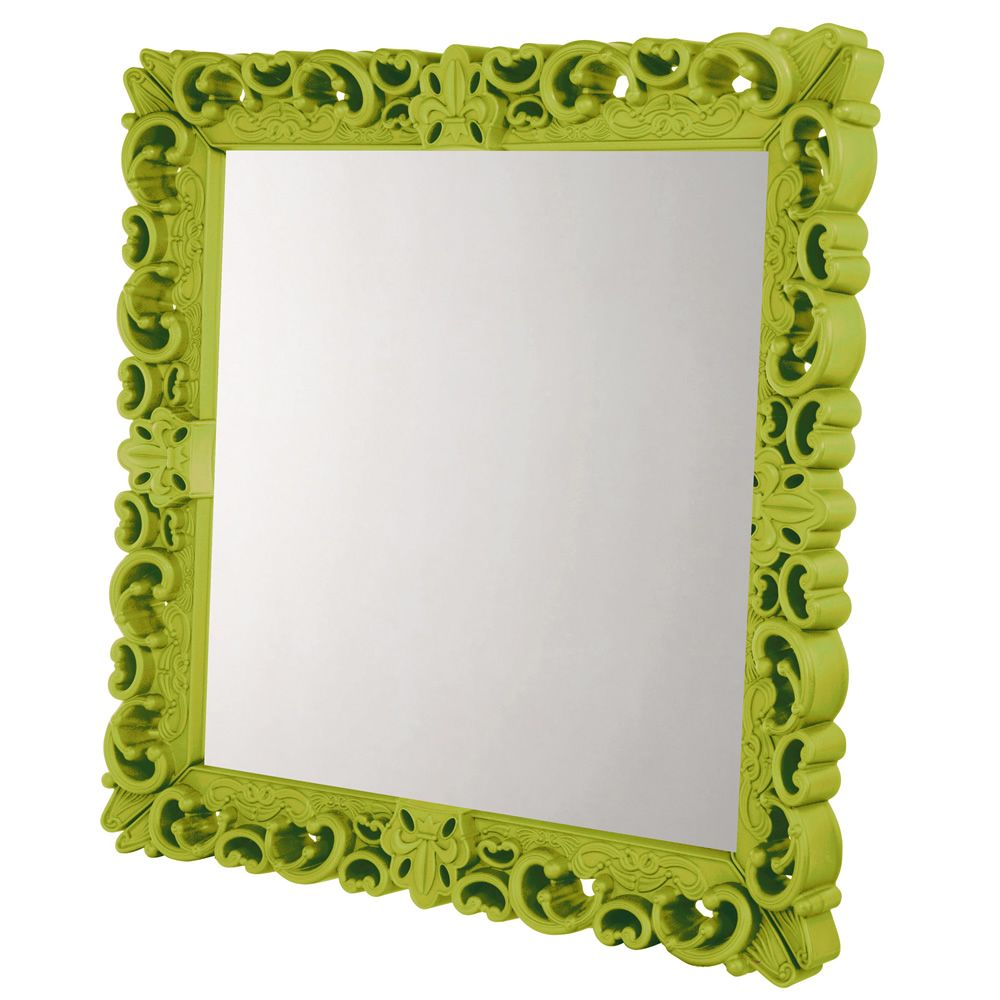 Mirror of Love Grandeur Grand Couleur Vert citron