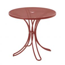 Florence 883 - Emu table made of metal, for garden, round top diameter 80 cm