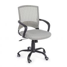 Bitti - Office task chair, backrest in net, with armrests, padded seat