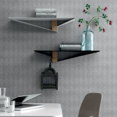 Albatros 6441 - Tonin Casa shelf made of metal and wood