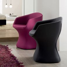 So Pretty - Poltroncina di design Chairs&More, imbottita
