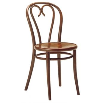 SEBERLI - Vienna style chair with wooden structure