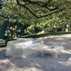 Ivy D - Emu sofa made of metal, for garden, with cushion