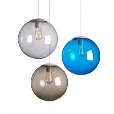Spheremaker 3 - Pendant lamp Fatboy, with 3 spheres of coloured polycarbonate, LED bulb, available in different colour combinations