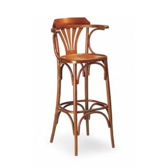 SE600SG - Wooden stool, with wooden seat
