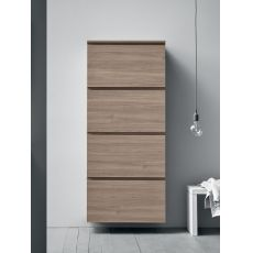 Minima - Entrance furniture-shoe rank with four doors, in several colours
