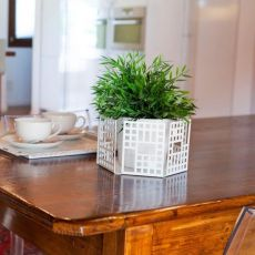 City O - Centre piece-tray in metal, available in several colours