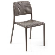 Bora Bistrot - Chair in fiber glass resin, stackable, also for garden