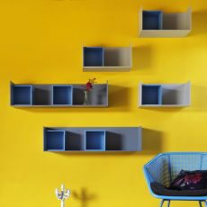 Edge - Miniforms wall shelf made of MDF, different sizes available