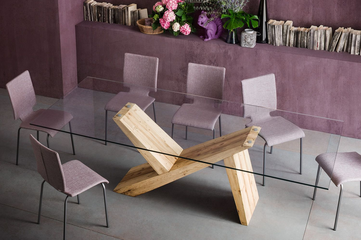 Table design en bois