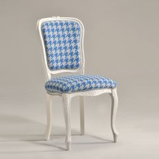 Brianzola - Classic wooden chair, padded seat