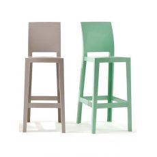 One More Please - Kartell design stool,  polycarbonate, seat height 65 or 75 cm, also for garden