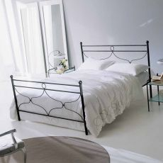 Maryland big 25.52 - Double bed in iron, several colours available