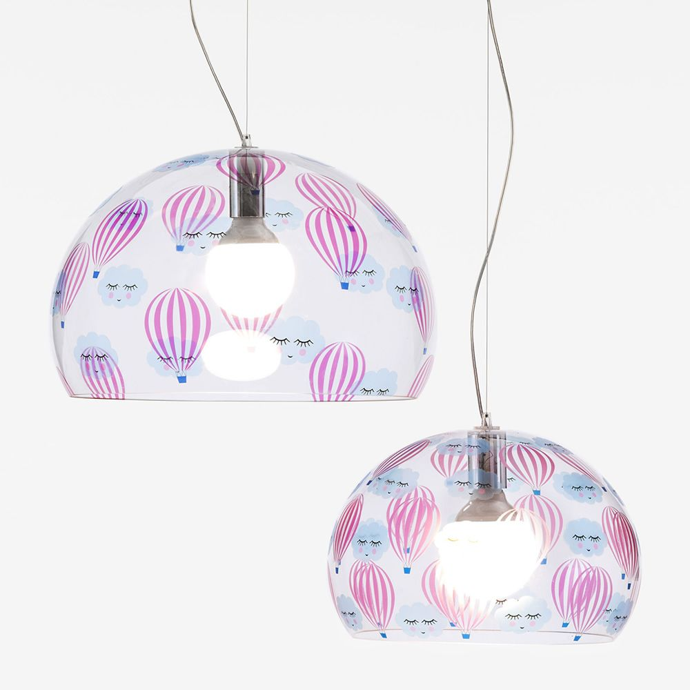 Design Kartell suspension lamp, hot-air balloon, L and S size