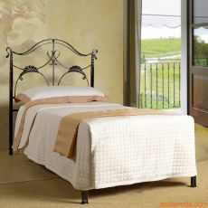 Ottocento - Single bed in wrought-iron