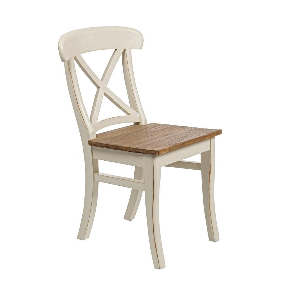 Shabby chic chair in wood