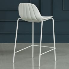 Babah SG - Stool Chairs&More, in metal and polyurethane, available in different colours and seat height