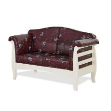 LAR9 Divano - Country stile wooden sofa available in several colours