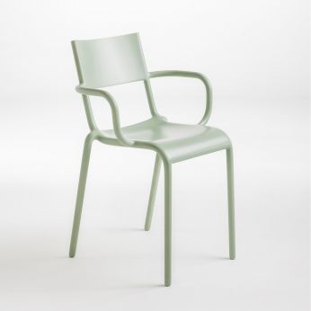 Generic A - Kartell design chair, sage green