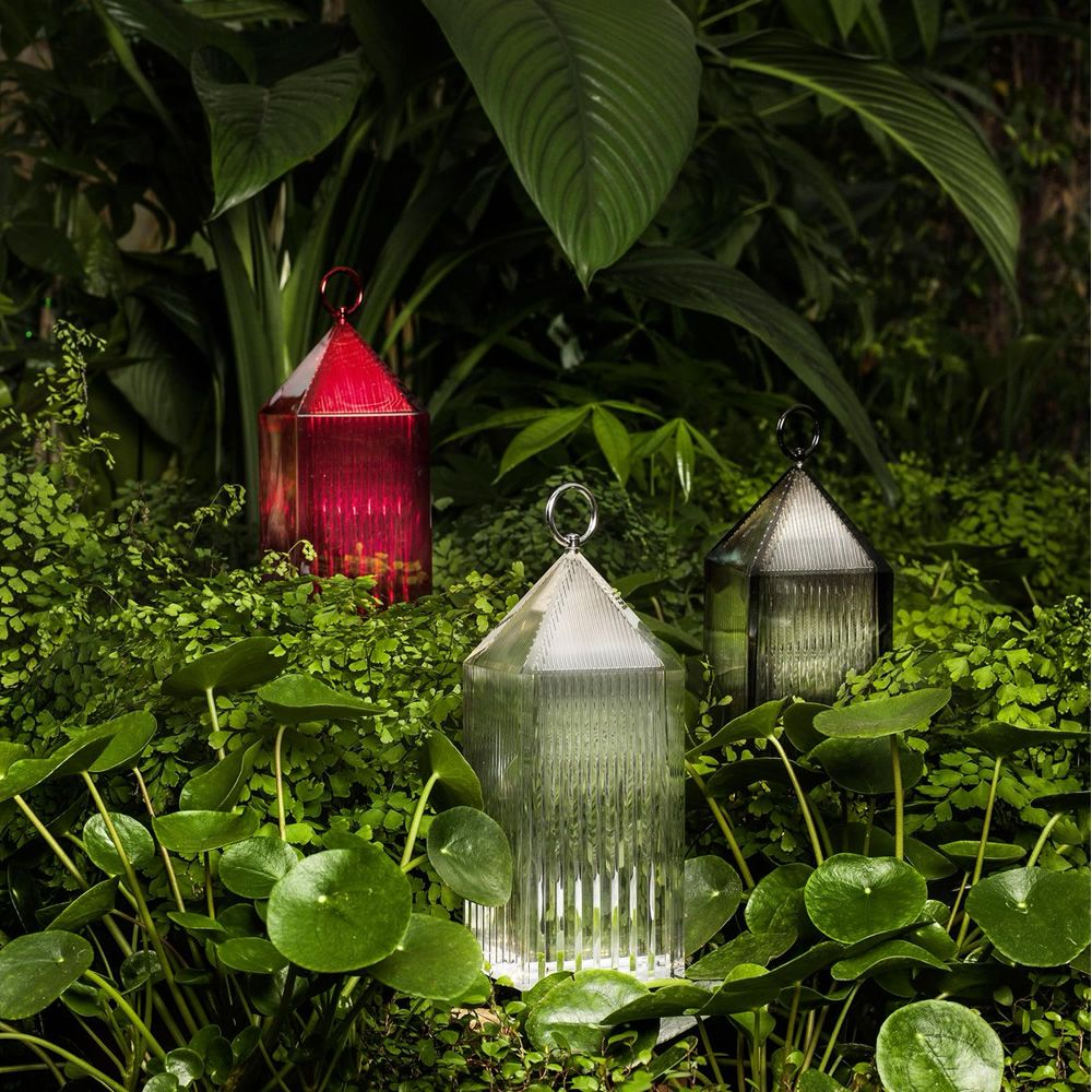 Kartell table lamp in technopolymer, in several colours